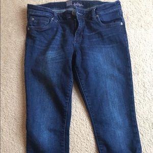 Kut from the Kloth Mia skinny jeans 8P petite